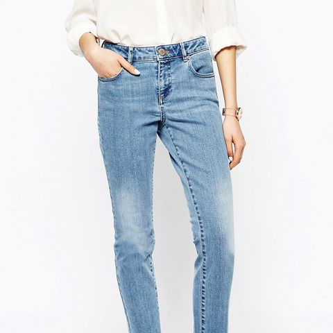 Pencil Straight Leg Jean