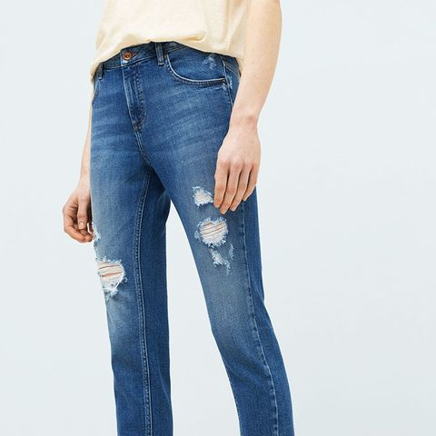 Twister Cropped Jeans