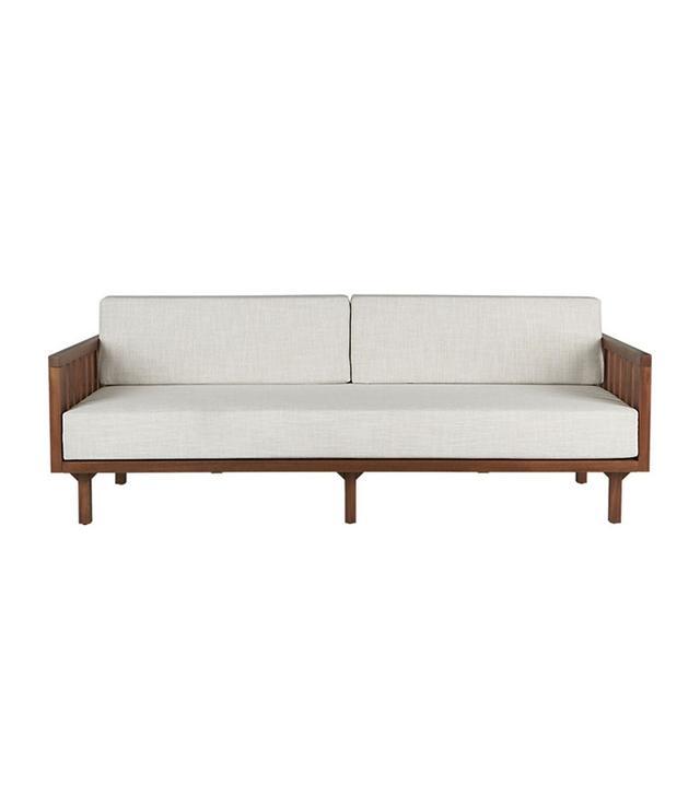 CB2 Tropez Natural Sofa