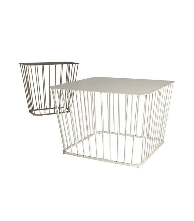 CB2 Wire Coffee Table