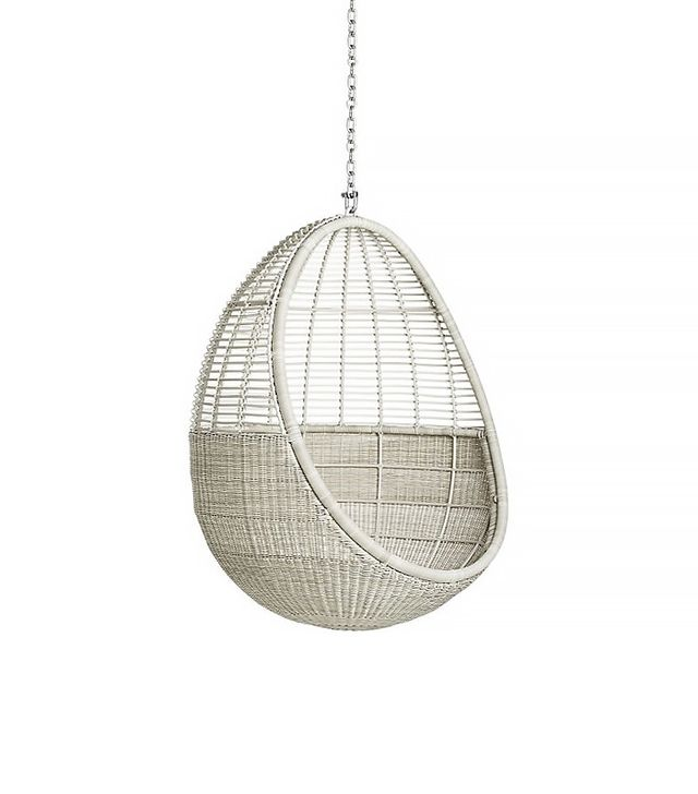 CB2 Pod Hanging Chair