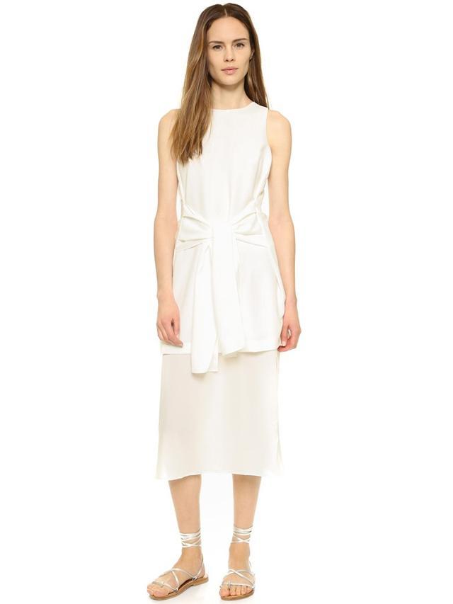 J.O.A. Tie Front Dress
