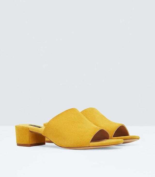 Mango Destructured Leather Sandals