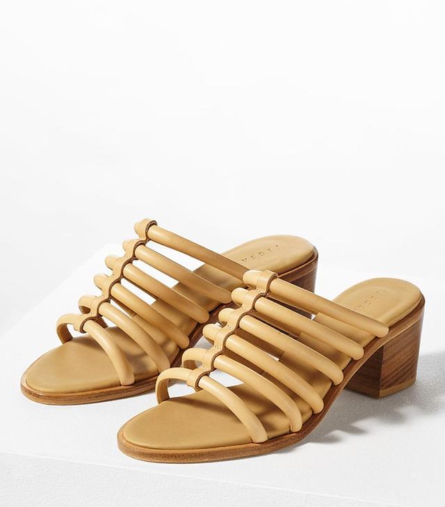 Jigsaw Tube Block Heel Sandal