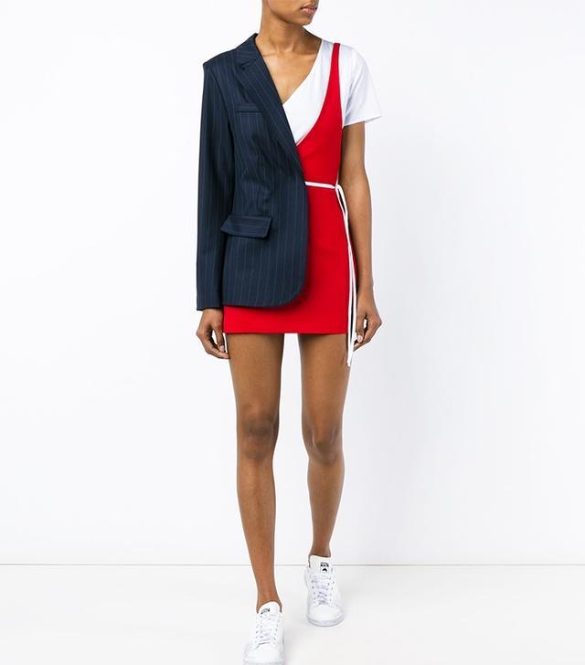 Jacquemus Asymmetric Puzzle Dress