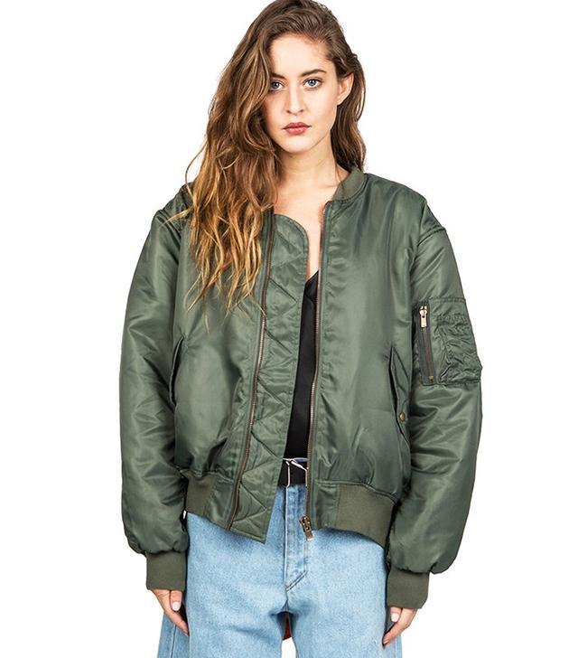 Y/Project Khaki Bomber Jacket
