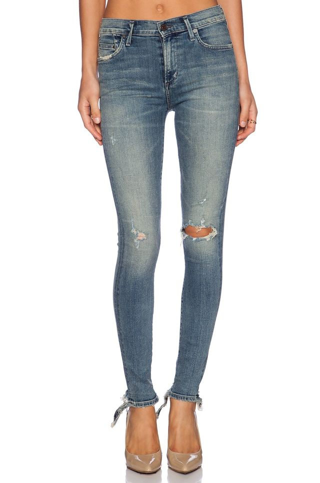Citizens of Humanity Premium Vintage Rocket High Rise Skinny Jeans