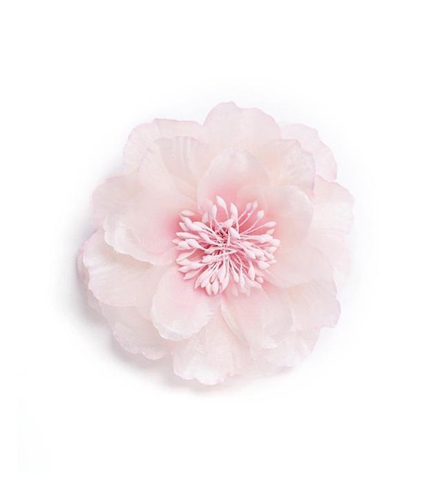 ASOS Blush Rose Hair Clip + Brooch