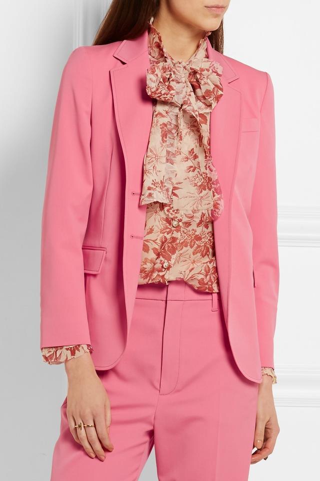 Gucci Stretch Wool and Silk-Blend Blazer