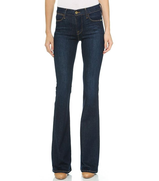 Frame Le High Flare Jeans in Sutherland