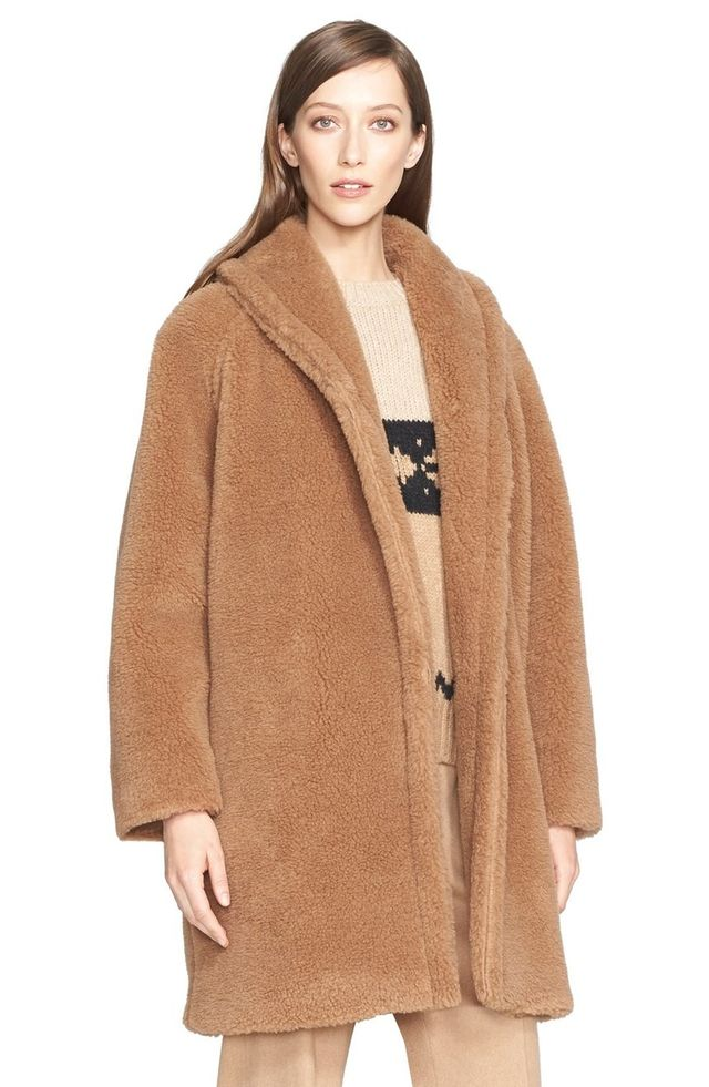 Max Mara Teddy Bear Faux Fur Coat
