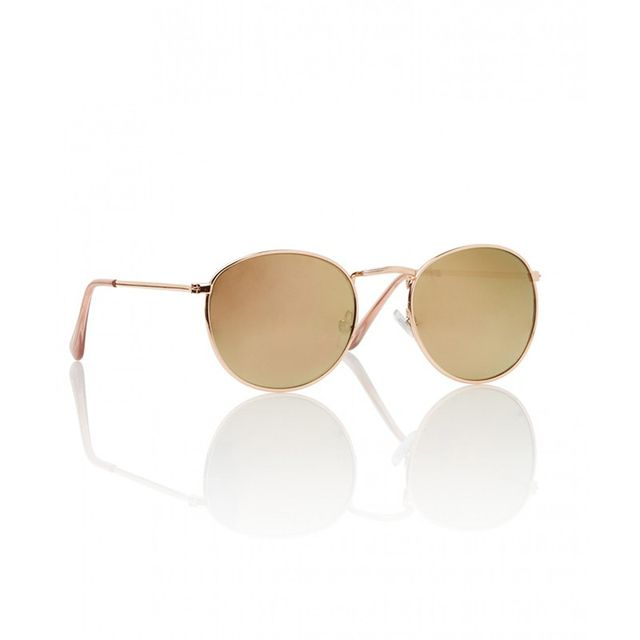 Sportsgirl Clear Water Rose Gold Sunglasses