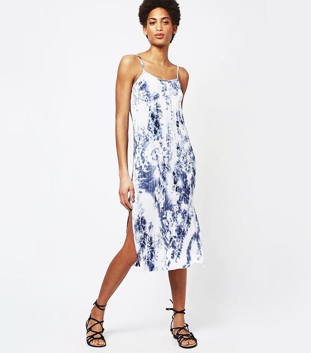 Topshop Marble Slip Dress