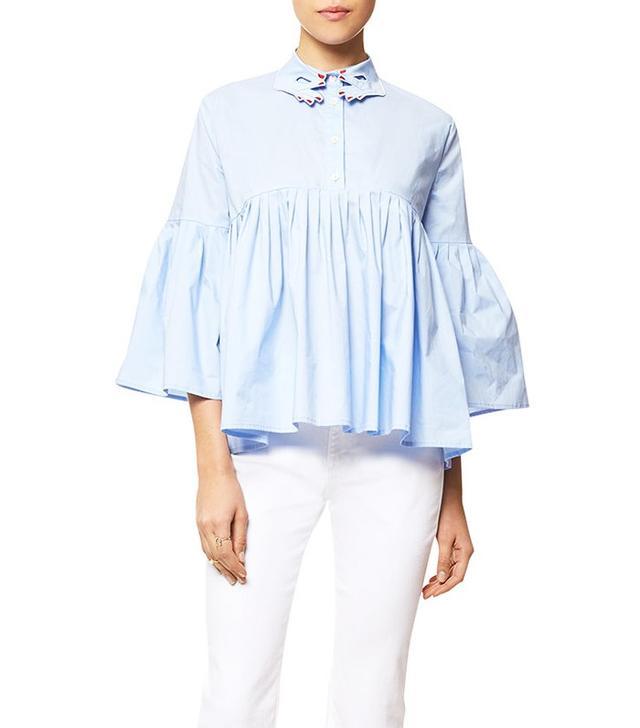 Vivetta Bell Sleeve Blouse