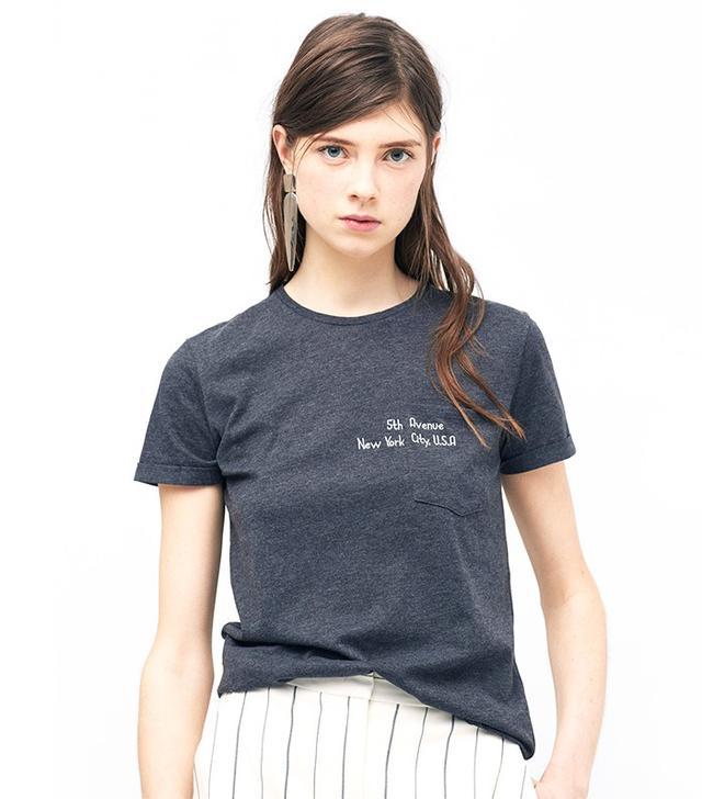 Mango Pocket T-Shirt