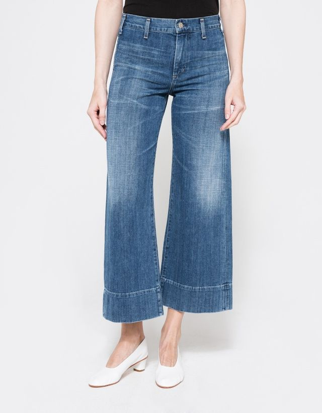 Citizens of Humanity Abigail High-Rise Wide-Leg Jeans