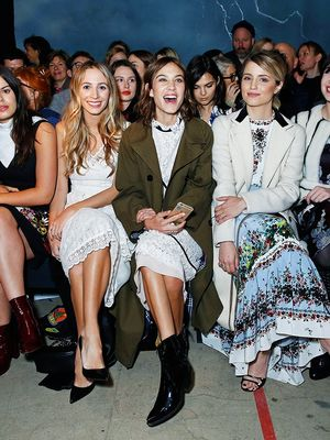 Alexa Chung's Instagram Clique: Meet the Stylish Girls on Her Feed