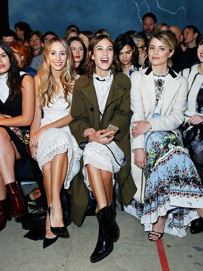 Alexa Chung S Instagram Clique Meet The Stylish Girls On