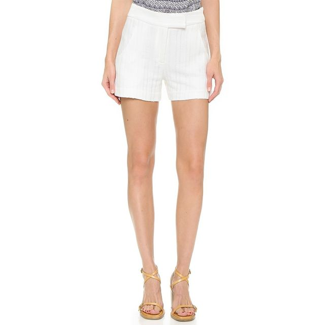 Veronica Beard Tropicana Tailored Shorts