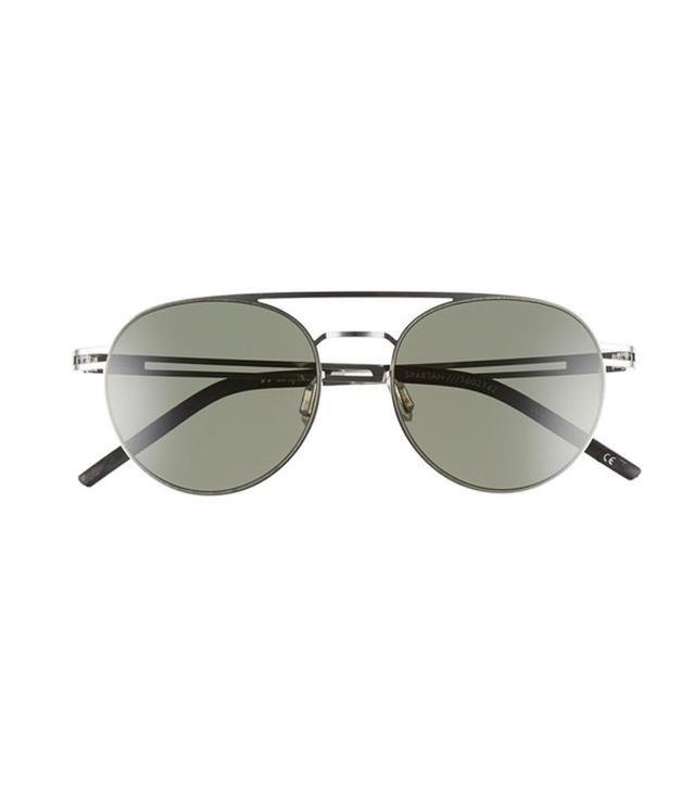 Le Specs Spartan 51mm Aviator Sunglasses