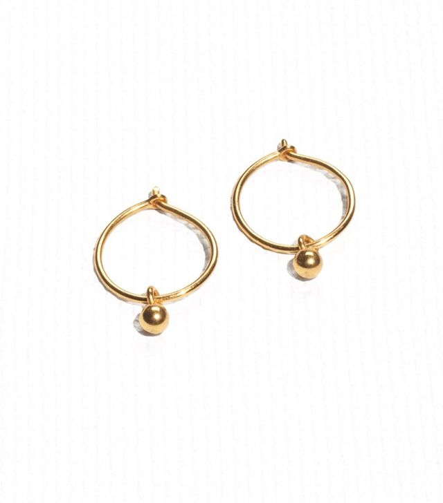 & Other Stories Gold Plate Earrings