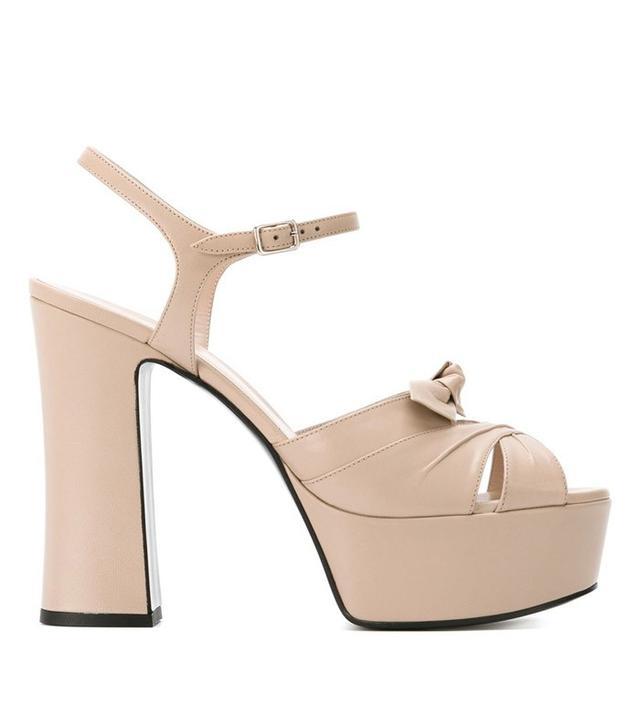 Saint Laurent Candy Platform Sandals