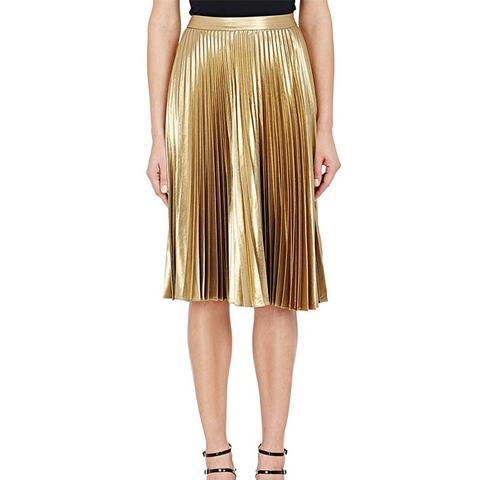 Gates Pleated Skirt