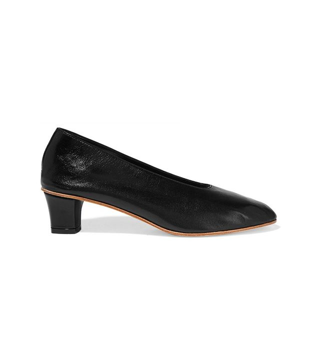 Martiniano High Glove Leather Pumps