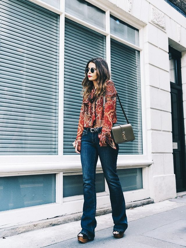 The Top-and-Denim Combo Fashion Girls Canu0026#39;t Stop Wearing | WhoWhatWear