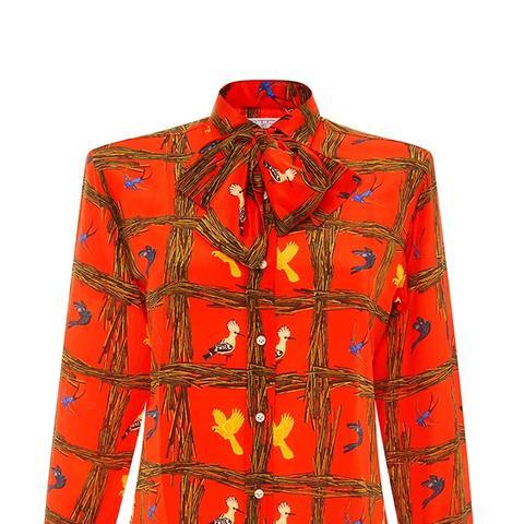 Orange Incisore Shirt