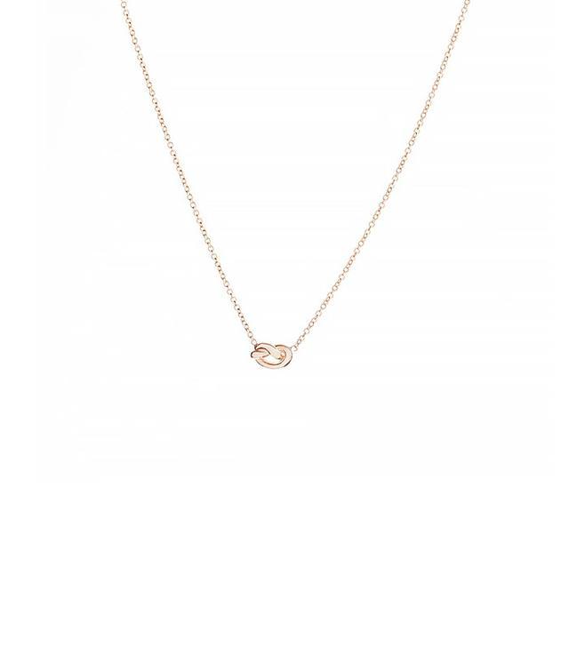 Ariel Gordon Love Knot Necklace