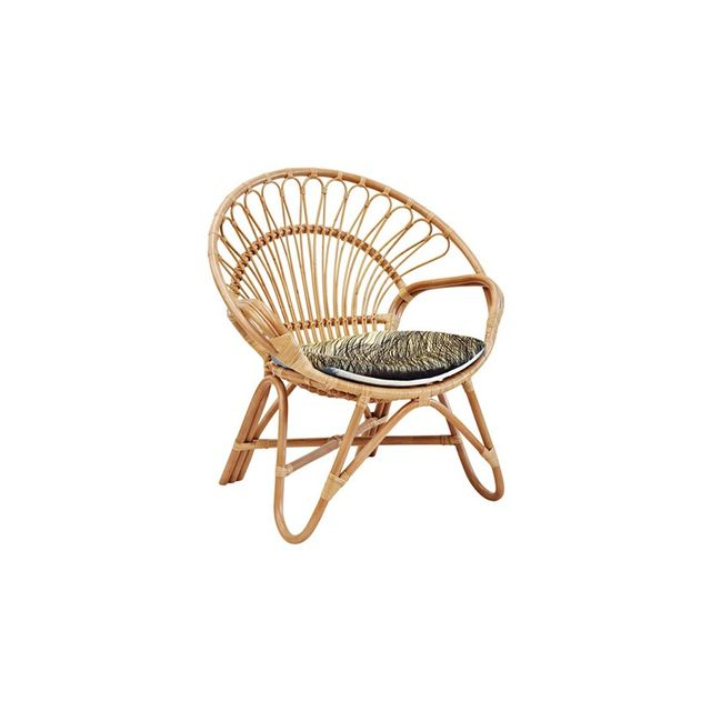 The Family Love Tree Rattan Round Chair Natural