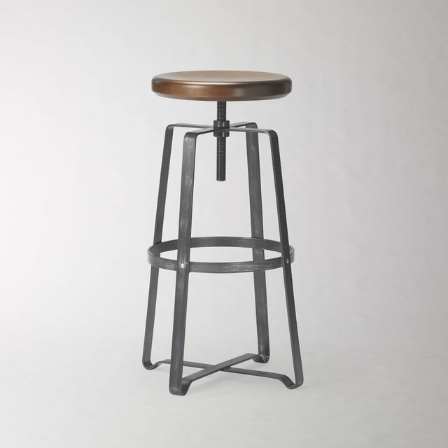 West Elm Adjustable Industrial Stool
