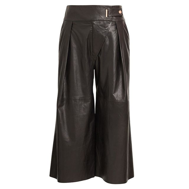 Ginger & Smart Repose Leather Culottes