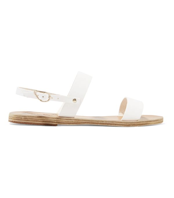 Hermes Oran Sandals: Ancient Greek Sandals Clio Leather Sandals