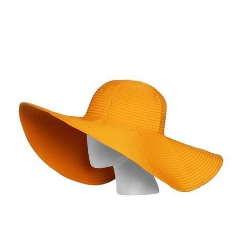 Orange UVA/UVB Protective Sun Hat