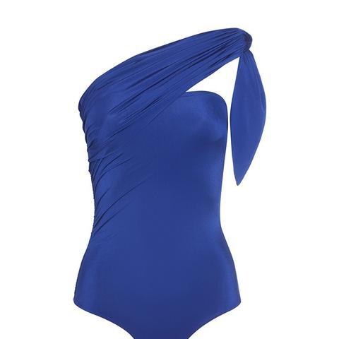 Marie Blue Bandeau Multiway Swimsuit