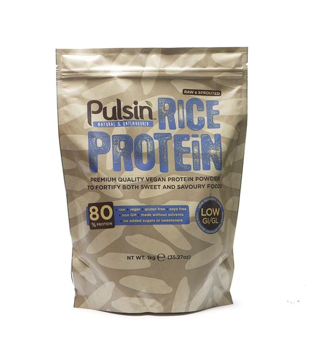 Fruitarian diet: Pulsin Rice Protein Powder