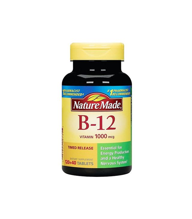 Fruitarian diet: Nature made Vitamin B-12 Timed Release Tablets