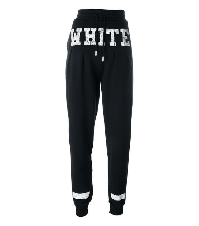 Off-White Cuff Logo-Print Sweatpants