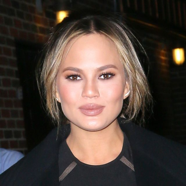 Chrissy Teigen Just Made Cut-Off Shorts Work for Date Night