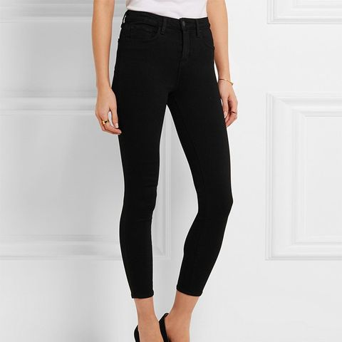 The Margot Cropped Mid-Rise Skinny Jeans