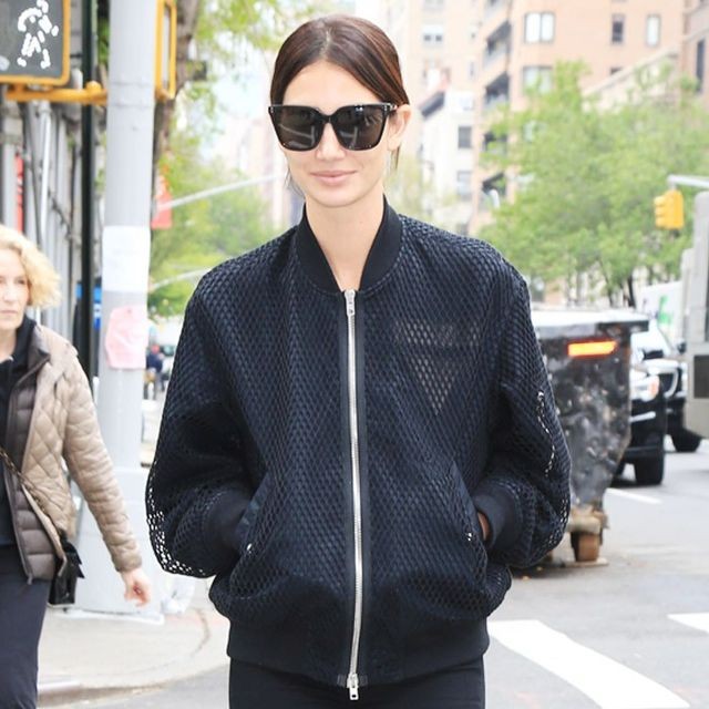 Lily Aldridge Surprised Us with Her Latest Sneaker Choice