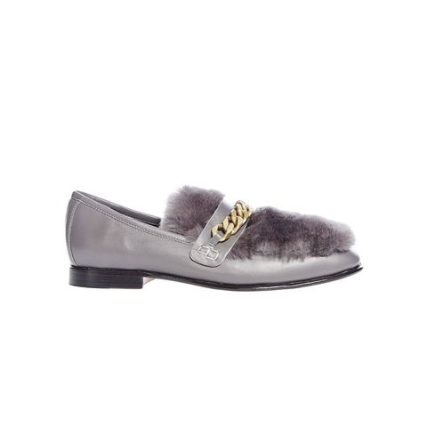 Grey Loafur Shoe