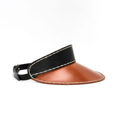Leather Visor