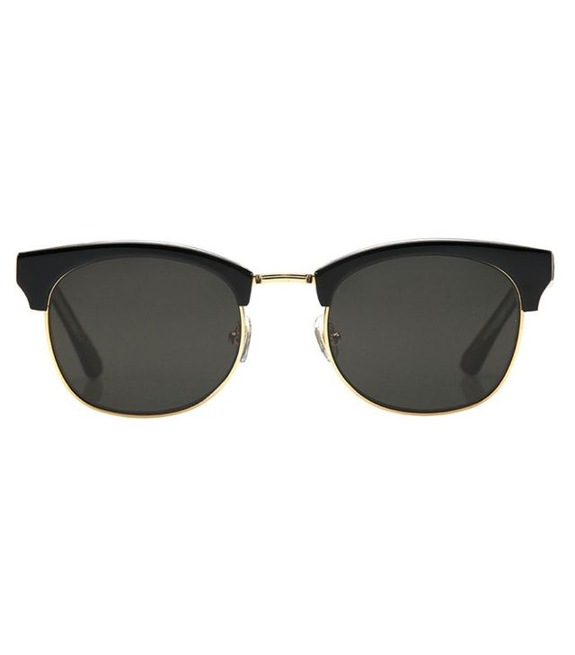 Krewe du Optic LGD Black + Crystal Polarized 24K Sunglasses