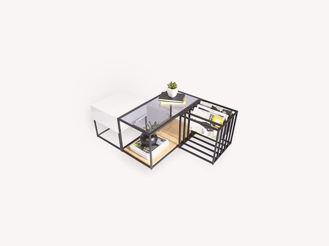 Sauder Boutique Space Frame Table