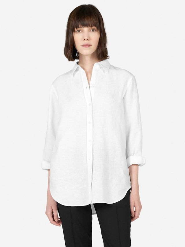 Everlane The Relaxed Linen Shirt