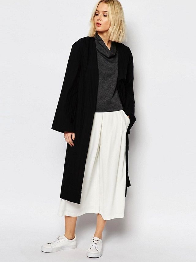 House of Sunny Luxe Casual Trench Coat