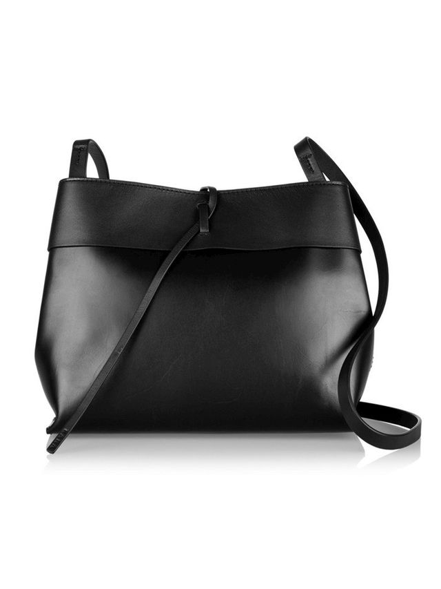 Kara Tie leather Shoulder Bag